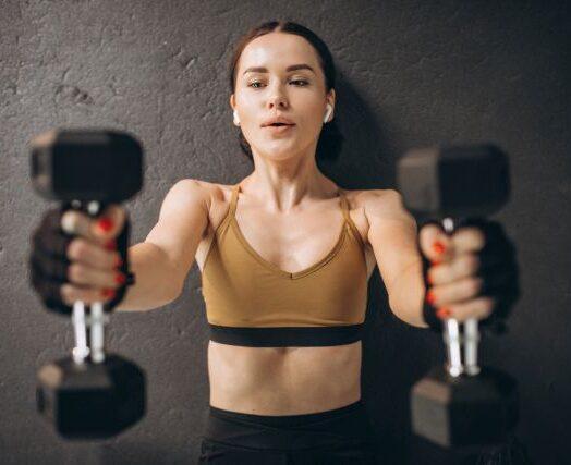 Hantle stałe – zalety treningu